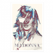 MDNA - OFFICIAL 2012 SUNGLASSES TOUR POSTER